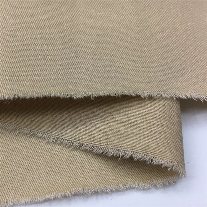 top sell 100% cotton fabric 1/3 twill clothing textile in stock
