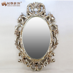 2017 New design bedroom dressing decorative wall hanging vintage mirror