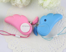 Angel Wing personal safety alarm Guardian women anti-rape self-protection alarm device anti theft anti-lost alarm