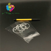 yiwu cheap clear opp cellophane bag with header and self adhesive tape