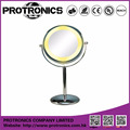 JM906 LED lighting mirror table mirror standing mirror double side magnifying