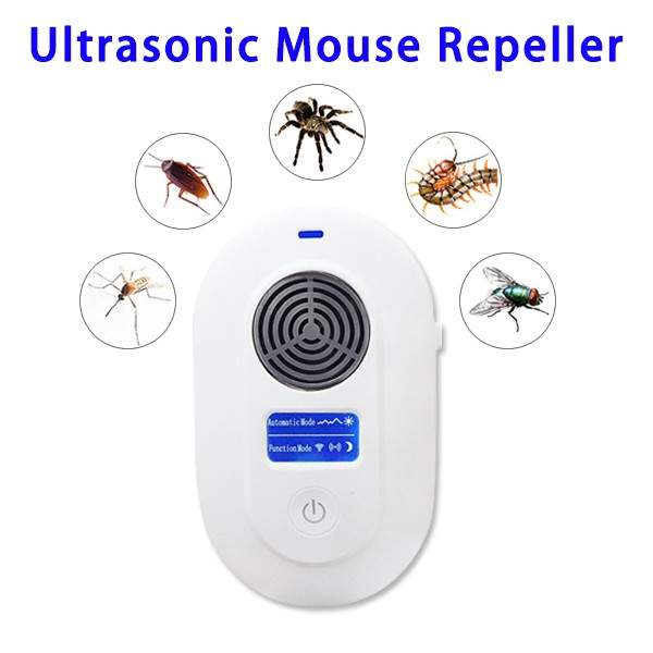 Ultrasonic Pest Mosquito Repeller Plug In