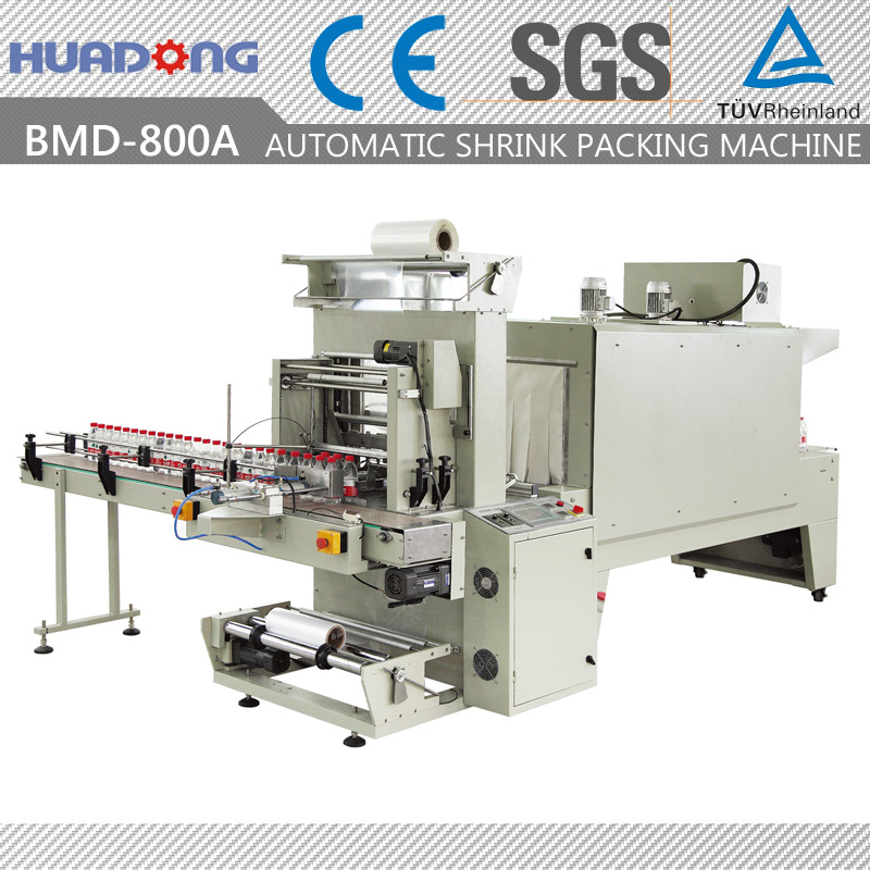 Automatic PET Bottle Sleeve Sealing Machine Heat Shrink Packaging Machine
