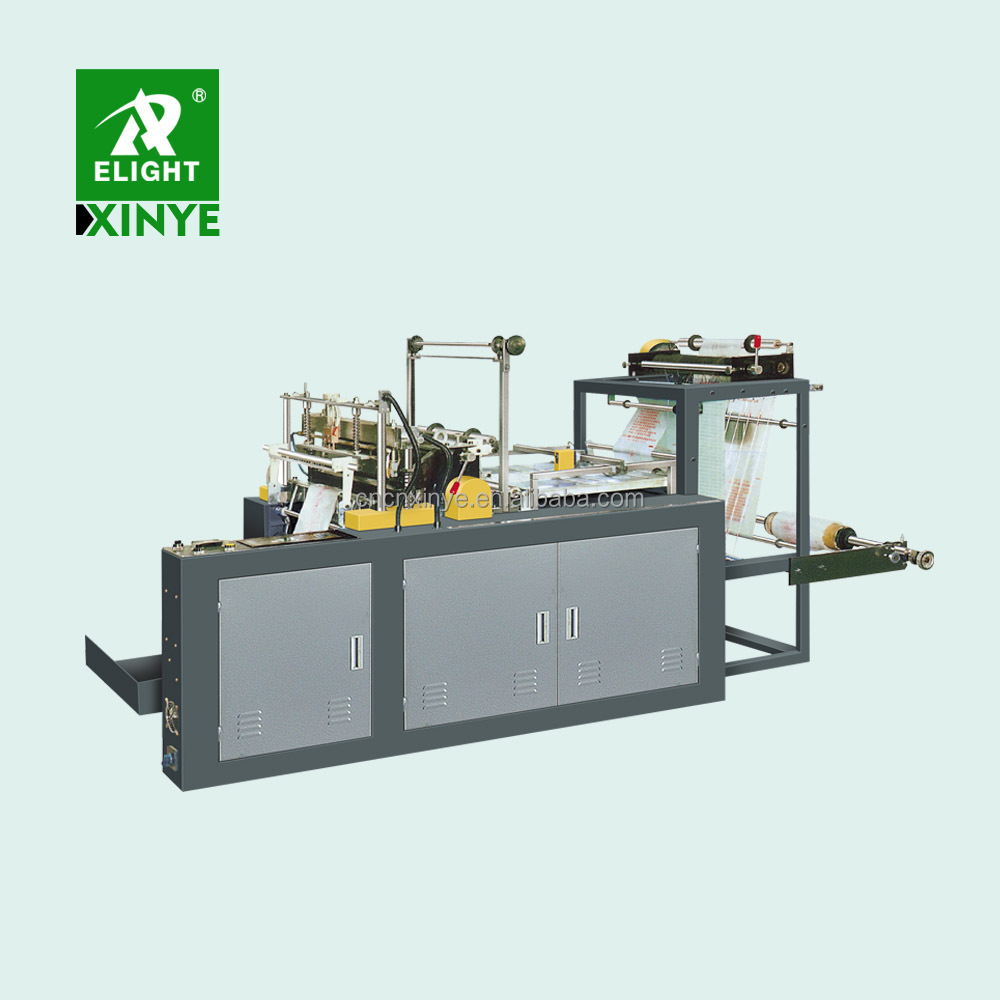 Fully automatic t-shirt bag onion bag potato bag making machine