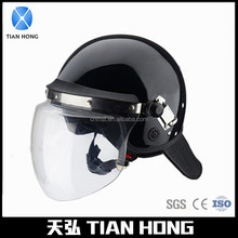 European Style Security Protection PC Visor Police Riot Helmet