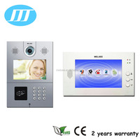 7 inch good quality TCP/IP multi apartment video door phone