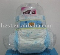 PE backsheet fashion soft disposable diapers