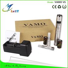 Hot selling!Unique slim e cigarette ce rohs variou colors vgo the adam ecig mod bottom button ecig mod vamo v5 ecig
