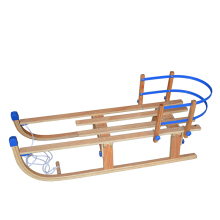 Foldable Wooden Snow Sled for Kids