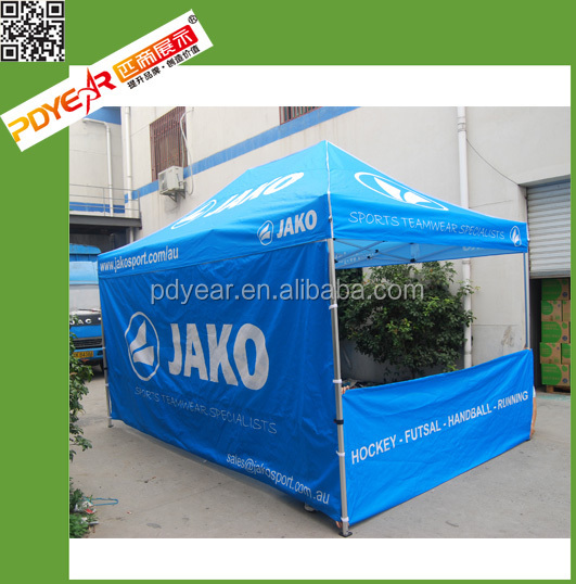 3x3m Graphic Folding Tent Waterproof Family Tent