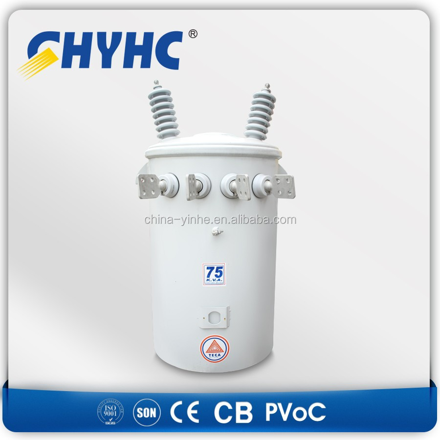 167 kva capacity 11kv 33kv single phase oil power transformer price oil immersed distribution transformer