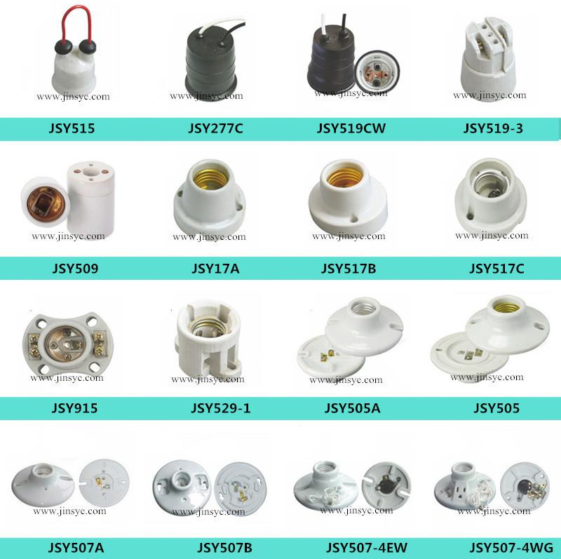 Wholesale e26 e27 green black porcelain ceramic light socket ...