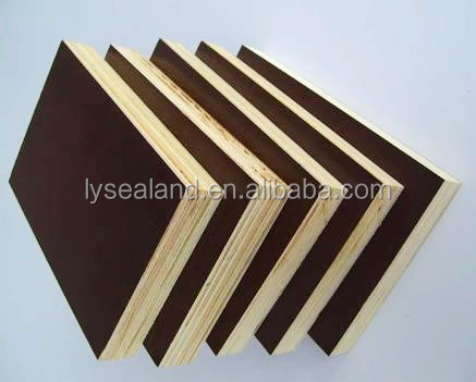 two time pressed 1220x2440x 18mm/One time hot press Finger joint Film faced plywood /Board from Linyi Shandong China
