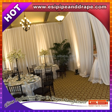 ESI Special offer event wedding backdrop kits/wholesale backdrop stand/adjustable pipe and drape