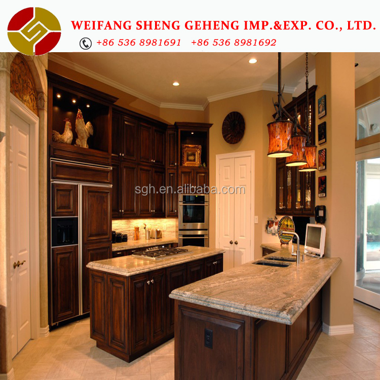 Hot Sale Second Hand Kitchen Cabinets China All Wood Kitchen Cabinets Supplier White Kitchen Cabinets Factory