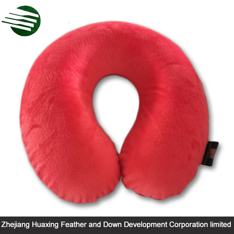 HPPU112 Decorative Beautiful Design Professional Travel U shape Support Neck Pillow