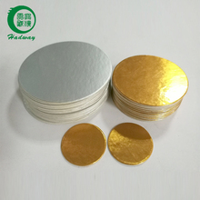 Two pieces silver aluminum foil induction seal liner for pesticides