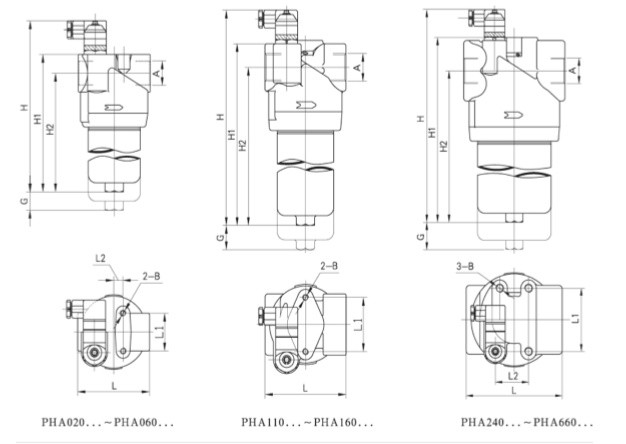 Return oil filter assembly with filter element