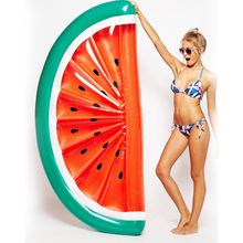 2018hot-sale products ,Pool Float Inflatable Watermelon Slice / floating air mattress water bed cheap price