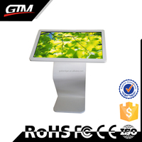 "32"" Lcd Video Monitor Advertising Retail Store Smart Media Player Tv Box Stand-Alone Lcd Display Cf Sd Media Player Loop Video"