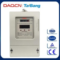 DAQCN China DTSY523 Three Phase Electronic Prepaid Type Energy Meter