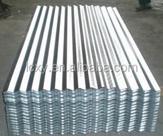 SGCC prime quality 22 gauge curve galvanized corrugated steel roofing sheet