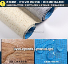 Best Quality 1.5mm Commercial PVC Flooring / Indoor or Bus/Garage Usage