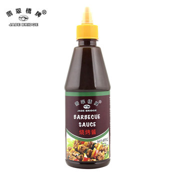 Chinese halal BBQ sauce 495g in plastic bottle