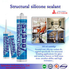 structural silicone sealant/ SPLENDOR high quality cheap silicone sealants/ flowable silicone sealant