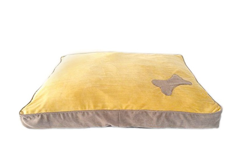 Hot sale snuggle brown pet mat dog cushionn dog bed