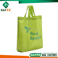 ECO Non woven Folding bag Custom Promotional packaging bag shopping bag tote different color