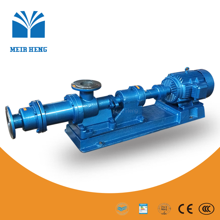 I-1B horizontal positive displacement pump eccentric single screw pump