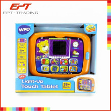 Hot selling kids children intelligent laptop learning machine