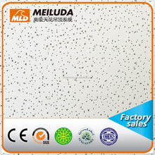 mineral board -light reflectance suspended ceiling for industrial acoustic mineral fibre ceiling tiles