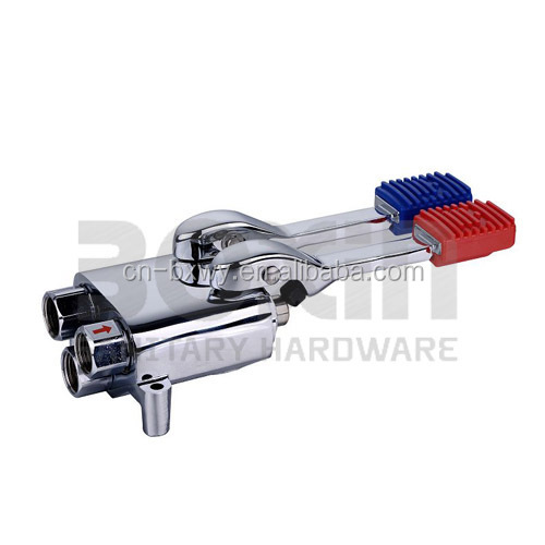 Double Foot Operated Pedal Faucets
