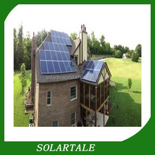 2kw hybrid solar power system for home use