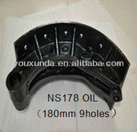 Auto parts Japan truck brake system brake shoes NS178 oil