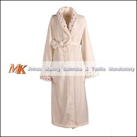 wholesale girl super soft coral fleece bathrobe,Ladies Plush robe