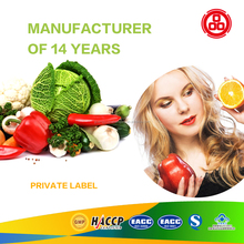 Factory direct fruits & Vegetables tablet/ capsule/powder oem weight loss enzyme health food supplements