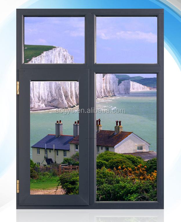Horizontal Casement Windows : Aluminium horizontal casement window double