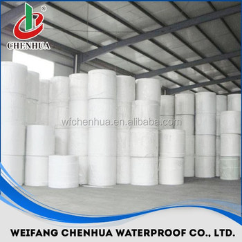 polyester needle felt for making SBS waterproofing Membrane in China