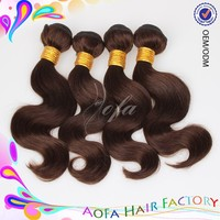 Color 4 brazilian hair extensions in canada, remy brazilian micro braid hair extensions
