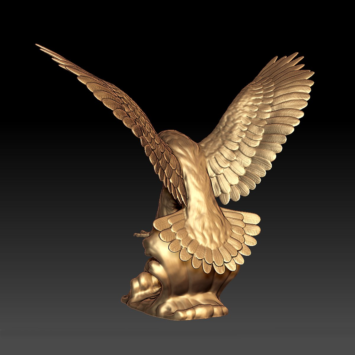 High Quality Outdoor Decoration Cast Bronze Life Size Griffin Garden Statue