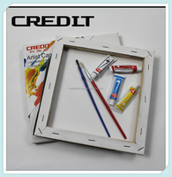 China art supplies blank stretched canvas oil paiting canvas