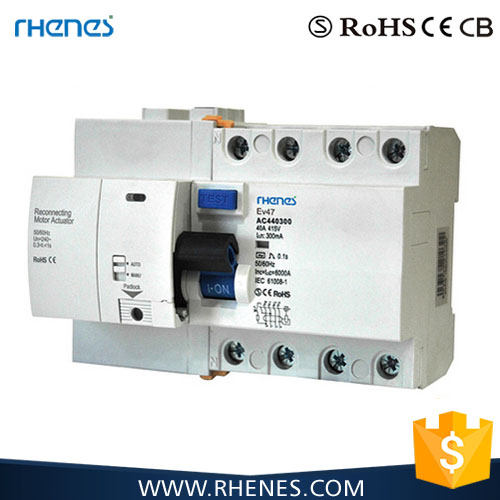 Nice quality auto-operation changeover Auto REC Automatic reclosing Remote control MCB/RCCB remote mcb