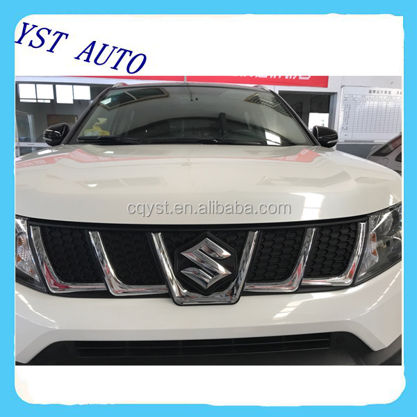 New Arrived Car Front Chrome Radiator Grill for (European version)Suzuki New Vitara Sport 2016 2017
