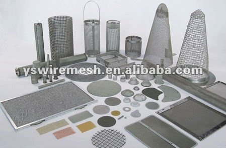 Stainless steel dust filter mesh