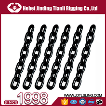 16MM G70,G80 galvanized alloy steel lifting chain for block or hoist used