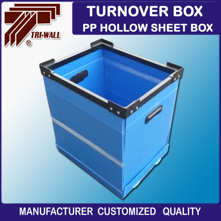 Fold up plastic moving Corrugated Plastic correx box