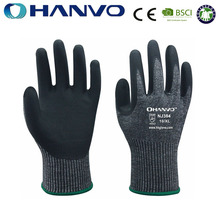 Wholesale HANVO Brand cut 5 working safety gloves